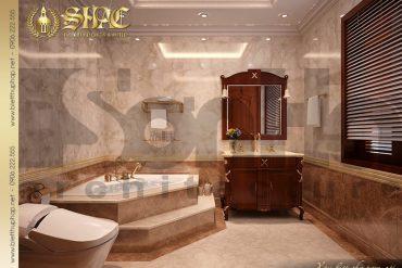 27 Mẫu nội thất phòng tắm wc biệt thự lâu đài cổ điển tại Hà Nội SH BTLD 0024