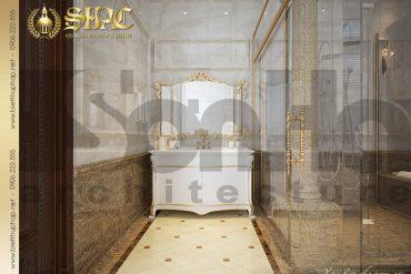 29 Mẫu nội thất wc biệt thự lâu đài cổ điển pháp tại Hà Nội SH BTLD 0024