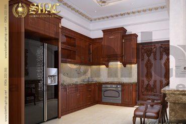 4 nội thất phòng bếp biệt thự lâu đài kiểu pháp tại An Giang SH BTLD 0031