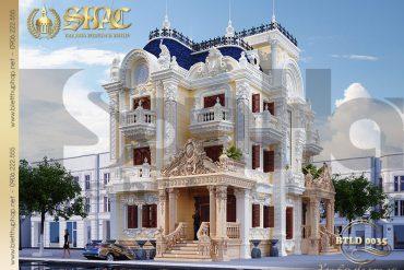 5 thiết kế biệt thự lâu đài pháp tại Sài Gòn SH BTLD 0035