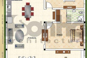 7 Bản vẽ công năng biệt thự tân cổ điển đẹp tại Quảng Ninh SH BTCD 0039