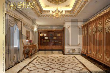 8 Thiết kế nội thất phòng thay đồ biệt thự lâu đài tại Quảng Ninh SH BTLD 0029