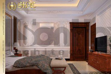 9 Thiết kế nội thất phòng ngủ biệt thự lâu đài kiểu pháp tại An Giang SH BTLD 0031