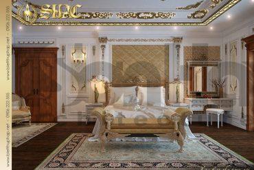 9 Thiết kế nội thất phòng ngủ biệt thự lâu đài tại Quảng Ninh SH BTLD 0029