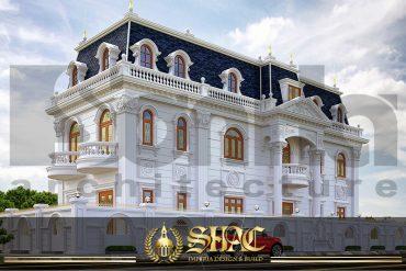 BIA Mẫu biệt thự đẹp kiểu pháp 3 tầng tại Can Tho SH BTP 0036
