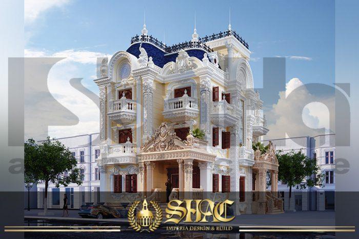 BIA Mẫu biệt thự lâu đài kiểu pháp tại Sài Gòn SH BTLD 0035