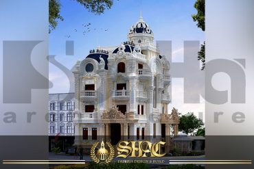 BIA Mẫu thiết kế biệt thự lâu đài pháp tại Sài Gòn SH BTLD 0028