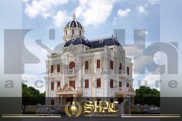 BIA Mẫu thiết kế lâu đài đẹp tại Hải Phòng SH BTLD 0037