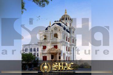 BIA Thiết kế biệt thự lâu đài đẹp tại Lạng Sơn SH BTLD 0030