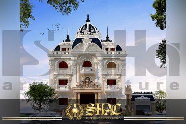 BIA Thiết kế biệt thự lâu đài tại Quảng Ninh SH BTLD 0029
