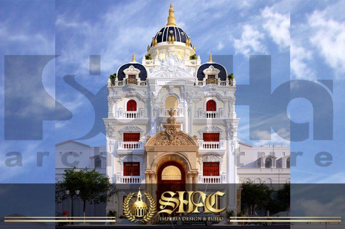 BIA Thiết kế kiến trúc biệt thự lâu đài pháp tại Lạng Sơn SH BTLD 0038