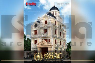 BIA Thiết kế kiến trúc biệt thự lâu đài tại Quảng Ninh SH BTLD 0020