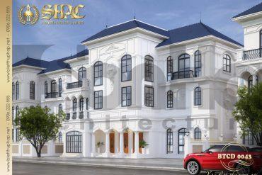 1 Thiết kế phương án 1 biệt thự song lập khu đô thị vinhomes hải phòng sh btcd 0043