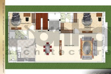 10 Mặt bằng công năng tầng 2 biệt thự cổ điển kết hợp kinh doanh tại quảng ninh sh btp 0124
