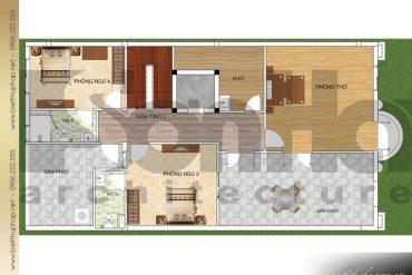 11 Mặt bằng công năng tầng 3 biệt thự cổ điển châu âu tại quảng ninh sh btp 0124