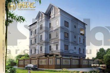 3 Thiết kế biệt thự sân vườn đẹp tại hải phòng sh btp 0123