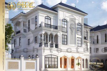 3 Thiết kế phương án 2 biệt thự 3 tầng khu đô thị vinhomes hải phòng sh btcd 0043