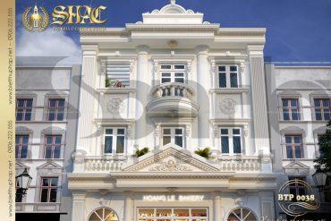 5 Thiết kế phương án 3 biệt thự cổ điển châu âu tại quảng ninh sh btp 0124