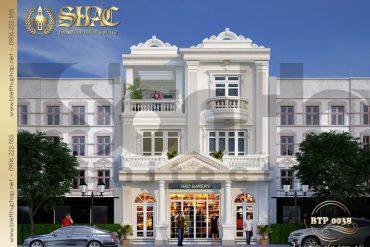 7 Thiết kế phương án 4 biệt thự pháp kết hợp kinh doanh tại quảng ninh sh btp 0124