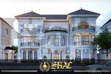 BÌA mẫu thiết kế biệt thự tân cổ điển khu đô thị vinhomes hải phòng sh btcd 0043