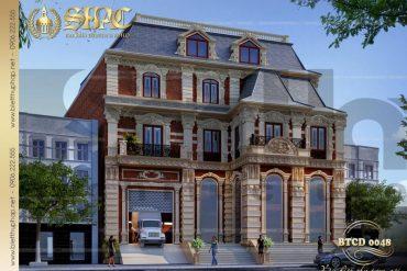 1 Thiết kế biệt thự tân cổ điển đẹp tại sài gòn sh btcd 0048
