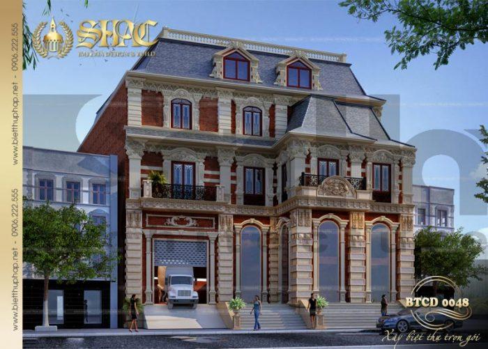 Mẫu thiết kế biệt thự tân cổ điển kiểu Châu Âu sang trọng, đẳng cấp và tiện nghi bậc nhất Sài Gòn