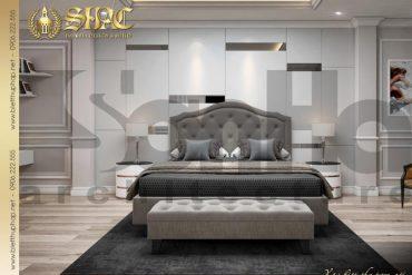10 Mẫu nội thất phòng ngủ con trai biệt thự tân cổ điển đẹp tại sài gòn sh btcd 0048