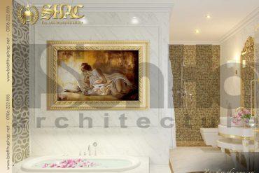 16 Mẫu nội thất wc phòng ngủ con gái biệt thự tân cổ điển đẹp tại sài gòn sh btcd 0048