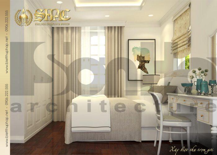 Sự kết hợp giữa màu sắc và nội thất làm nên một mẫu phòng ngủ đẹp, cá tính