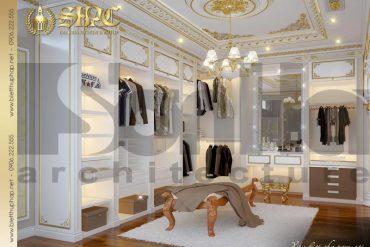 8 Mẫu nội thất khu thay đồ phòng ngủ giám đốc biệt thự tân cổ điển xa hoa tại sài gòn sh btcd 0048