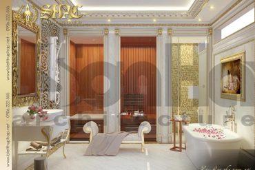 9 Thiết kế nội thất wc phòng ngủ giám đốc biệt thự tân cổ điển mặt tiền 18,3m tại sài gòn sh btcd 0048