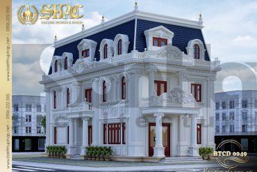 1 Thiết kế biệt thự tân cổ điển đẹp tại hà nội sh btcd 0049