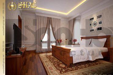 11 Thiết kế nội thất phòng ngủ 2 biệt thự tân cổ điển 3 tầng tại hà nội sh btcd 0049