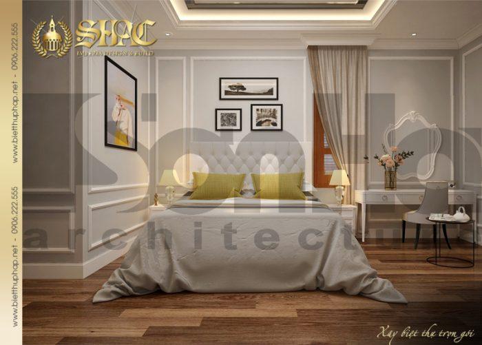 Mẫu thiết kế nội thất phòng ngủ dành cho con gái với gam màu dịu mắt, nhẹ nhàng theo sở thích của cá nhân