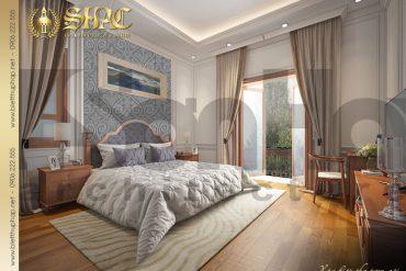 15 Thiết kế nội thất phòng ngủ 4 biệt thự tân cổ điển mặt tiền 10m tại hà nội sh btcd 0049