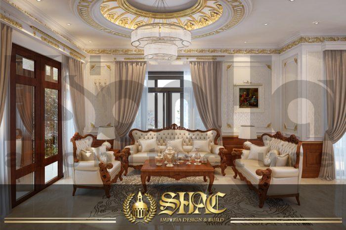 BÌA thiết kế nội thất tân cổ điển khu đô thị Senturia Vườn lài An Phú Đông sài gòn
