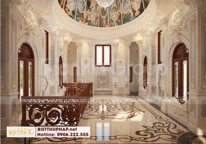 Trang trí nội thất tum vòm kiểu cổ điển đẹp và sang