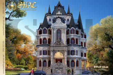 2 Mẫu biệt thự lâu đài đẹp tại hà nội sh btld 0040