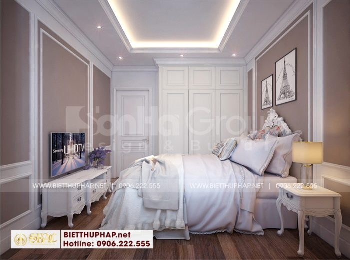 Cách trang trí nội thất phòng ngủ giúp việc cũng khiến chủ đầu tư vô cùng hài lòng và đánh giá cao