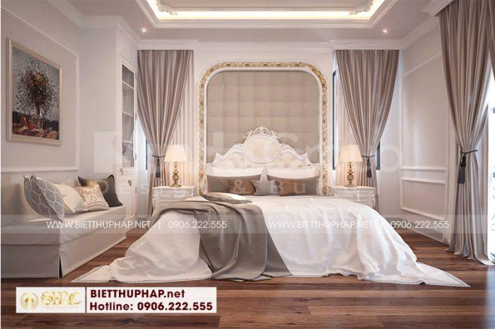 Chiêm ngưỡng mẫu phòng ngủ tân cổ điển đẹp có cách bố trí nội thất hài hoa đón đầu mọi xu hướng