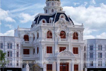 1 Thiết kế biệt thự lâu đài đẹp tại hà nội sh btld 0041