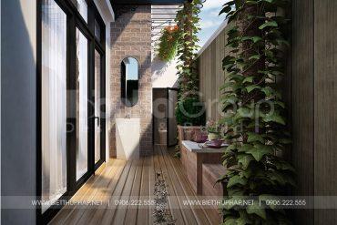 11 Thiết kế tiểu cảnh sân vườn biệt thự khu đô thị vinhome inperia hải phòng