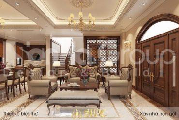 BÌA thiết kế nội thất tân cổ điển biệt thự khu đô thị vinhomes imperial