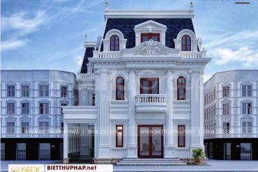 1 Thiết kế biệt thự tân cổ điển đẹp tại an giang sh btcd 0064