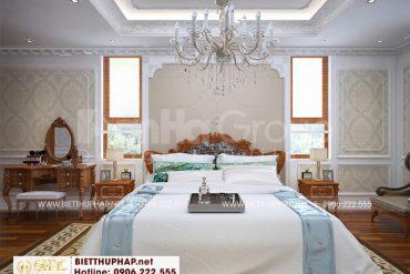 12 Mẫu nội thất phòng ngủ 6 kiểu tân cổ điển tại an giang sh btcd 0064