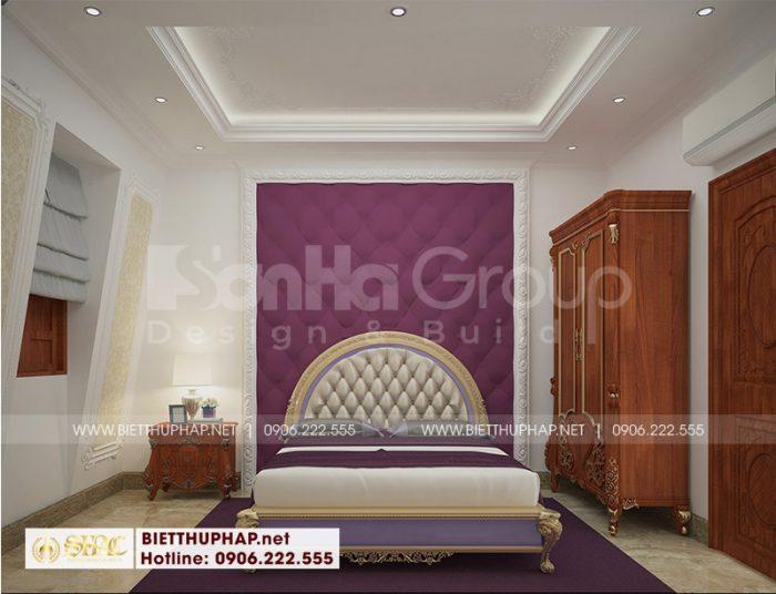Mãn nhãn với thiết kế phòng ngủ đẹp bố trí nội thất khoa học tinh tế