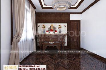 14 Mẫu nội thất phòng thờ tôn nghiêm tại quảng ninh