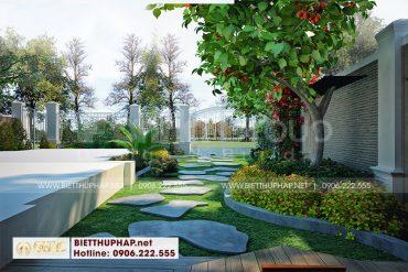 16 Trang trí tiểu cảnh sân vườn đẹp tại quảng ninh