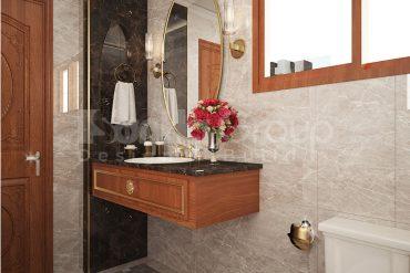19 Bố trí nội thất phòng tắm wc kiểu tân cổ điển tại an giang sh btcd 0064
