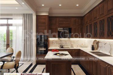 2 Bố trí nội thất phòng bếp đẹp tại quảng ninh